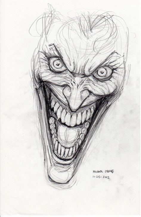 Stunning Joker Pencil Drawing Free Joker Drawings | Joker Drawing Pictures | Art | Joker Drawings Photo
