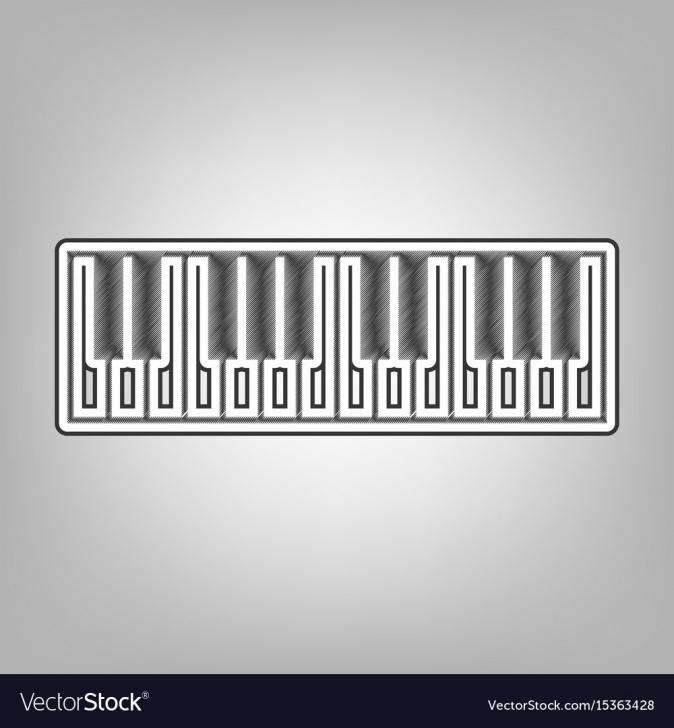 Stunning Keyboard Pencil Drawing Easy Piano Keyboard Sign Pencil Sketch Pics