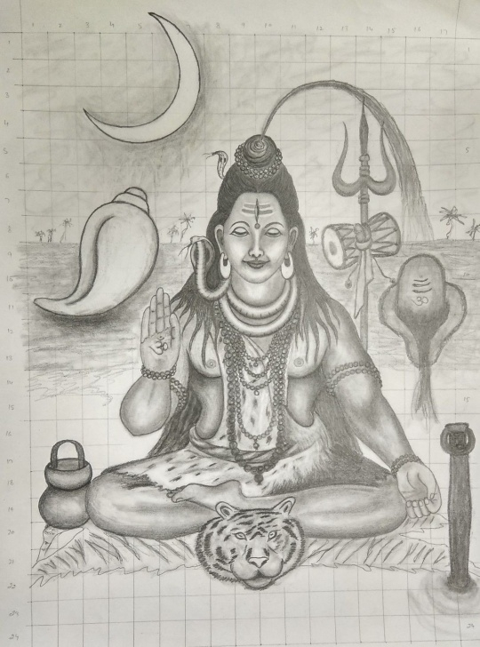 Stunning Mahadev Pencil Sketch Techniques for Beginners Pencil Sketch Of Mahadeva | Shivaayनम: | Statue, Sketches, Pencil Picture