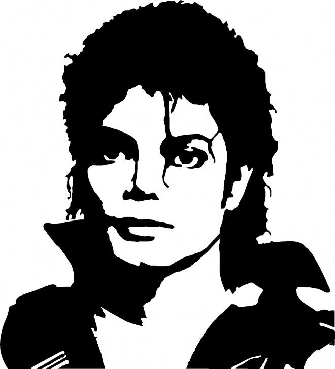 Stunning Michael Jackson Stencil Art Courses Michael Jackson-1 Laser Cut Vinyl Record Artist Representation Pictures