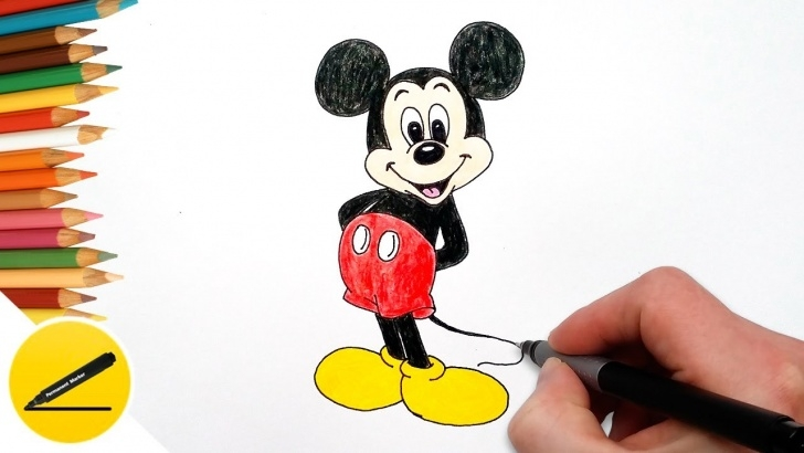 Stunning Mickey Mouse Drawings In Pencil Courses How To Draw Mickey Mouse Step By Step, Easy - Drawing Lessons For Kids Picture