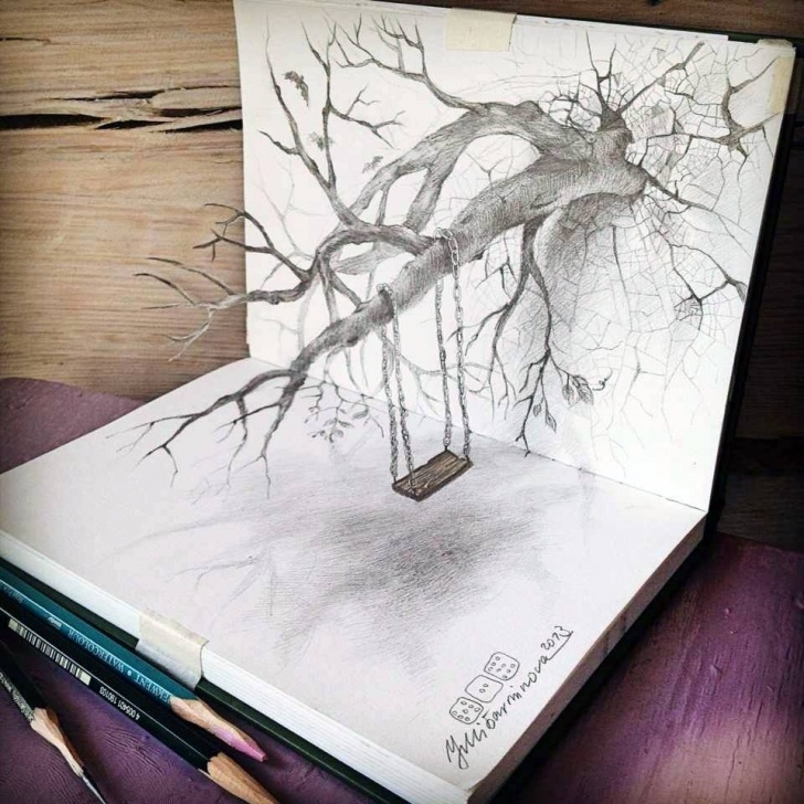 Stunning Mind Blowing 3D Pencil Drawings Techniques for Beginners Completely Mind-Blowing 3D Pencil Drawings Pic