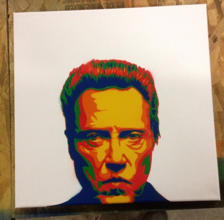 Stunning Multi Layer Stencil Art Step by Step Not Perfect, But Happy With My First Multi-Layer. Huge Thanks To U Image