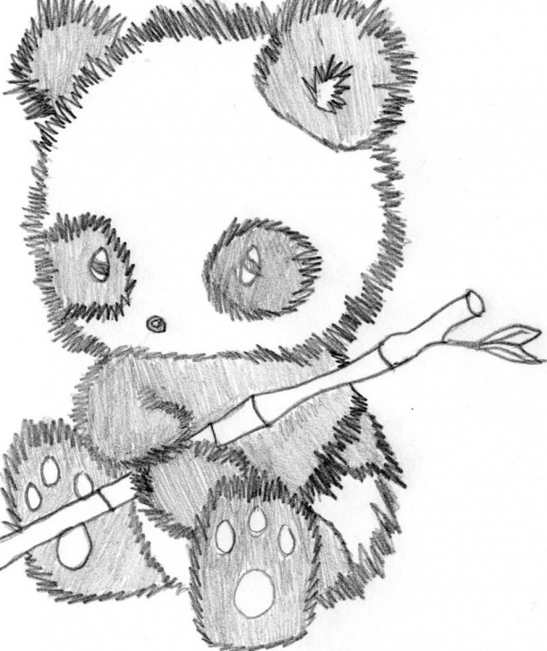 Stunning Panda Pencil Sketch Step by Step Cute Panda Pencil Drawing | - Clip Art Library Pic