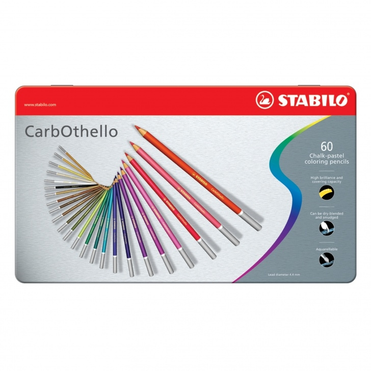 Stunning Pastel Pencil Artists Free Stabilo Carbothello Pastel Pencil, 60-Color Set Photos