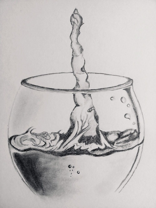Stunning Pencil Drawings Of Objects Courses Pencil Drawing Objects And Pencil Sketch Of A Glass Of Water/wine Images