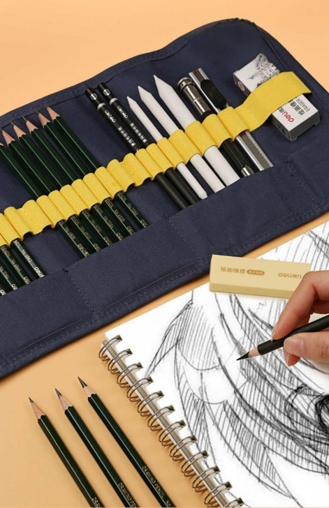 Stunning Pencil Sketch Cost Easy Sketch Pencil Set Painting Tools Professional Students With Art Supplies  Painting Adult Complete Set 58125 Image