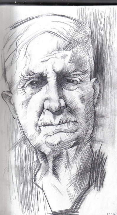 Stunning Pencil Sketches Of People Easy Pencil Drawings Of Old People | Pencil Drawings | Art - Portraits In Picture