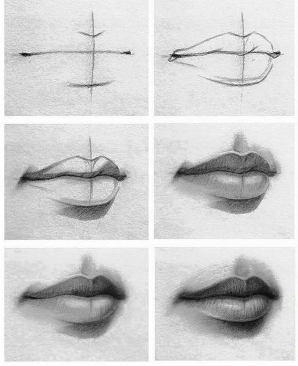 Stunning Realistic Pencil Drawings Step By Step Lessons Realistic Pencil Drawing Tutorial Gallery: Realistic Pencil Drawings Pictures