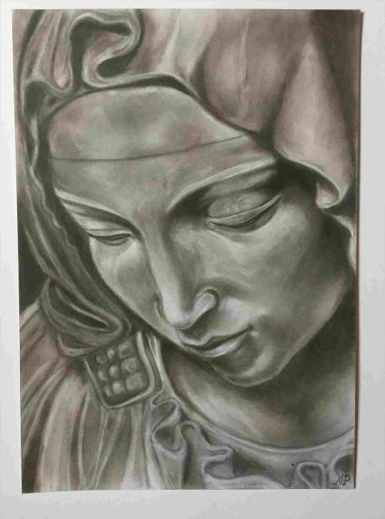 Stunning Religious Pencil Drawings Tutorial X-Religious-Pencil-Drawings-Inches-On-Bristol-Drawing-Rhpinterestcom Image