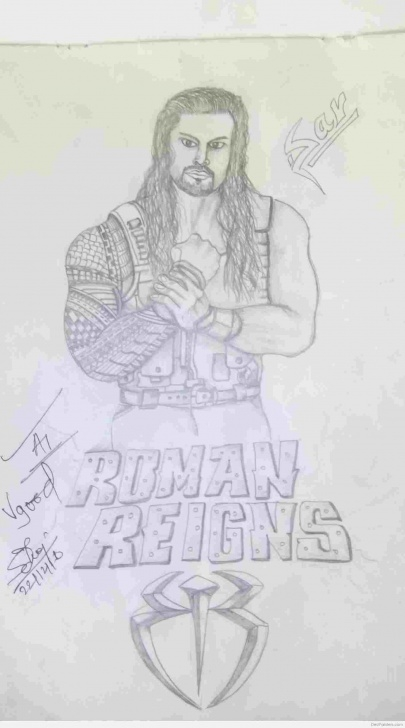Stunning Roman Reigns Pencil Drawing Techniques for Beginners Youtuberhyoutubecom Pencil Sketch Of Roman Reigns Photo