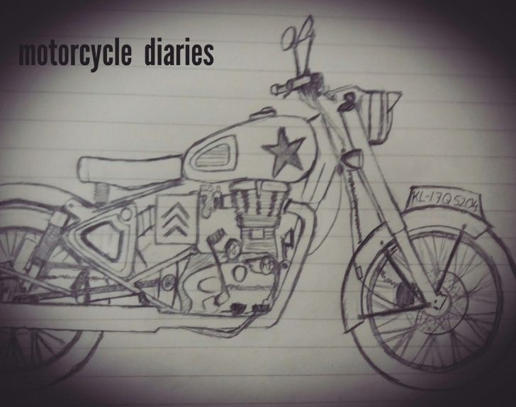 Stunning Royal Enfield Pencil Sketch Lessons 12 Exceptional Royal Enfield Pencil Sketch Photos - Sketch - Sketch Arts Pics