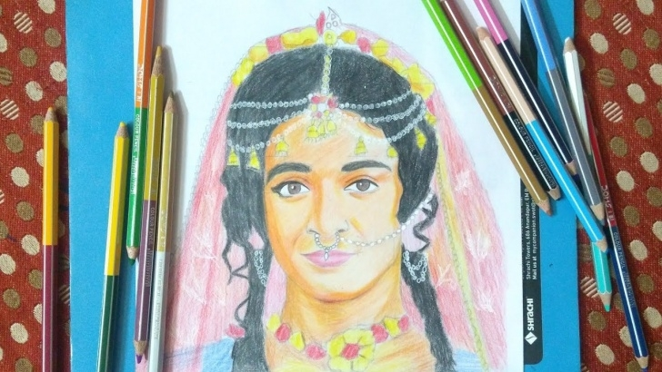Stunning Serial Radha Krishna Pencil Sketch Tutorial Drawing Sumedh Mudgalkar As Gopa Devi #krishna From Radha Krishna Tv Serial  Pencil Sketch Pictures