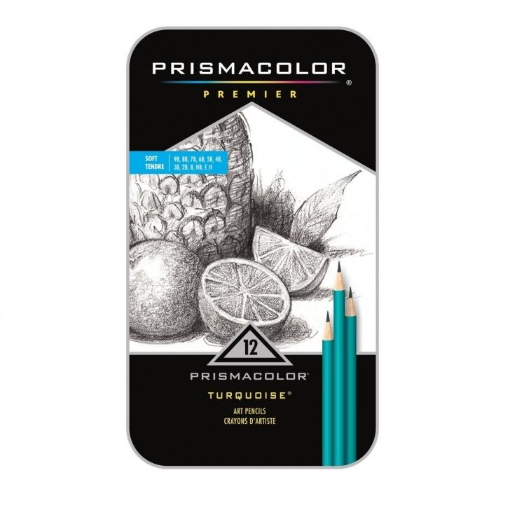Stunning Soft Grade Pencil Lessons Prismacolor Premier 12 Pencils Turquoise Soft Grade Graphite Pencil Set;  Drawing, Sketching Prismacolor Pencils, Arts Crafts Photo