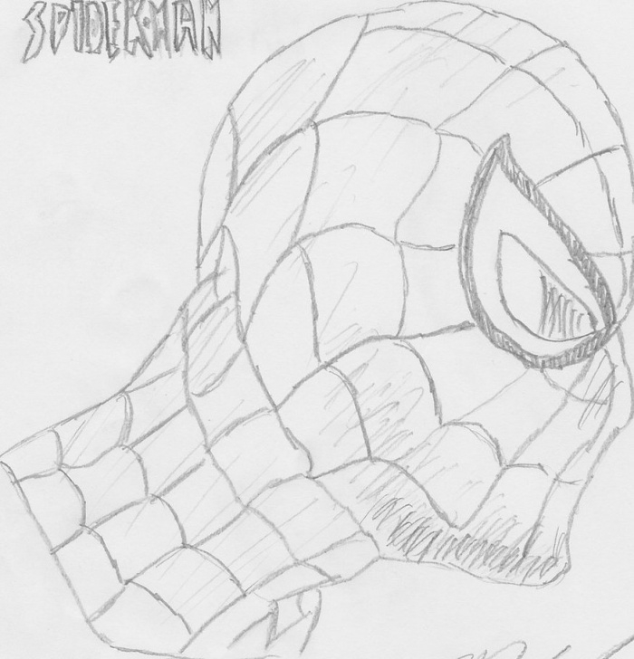 Stunning Spiderman Drawings In Pencil Easy Easy Pencil Sketch Spiderman And Spiderman Drawings In Pencil Easy Picture