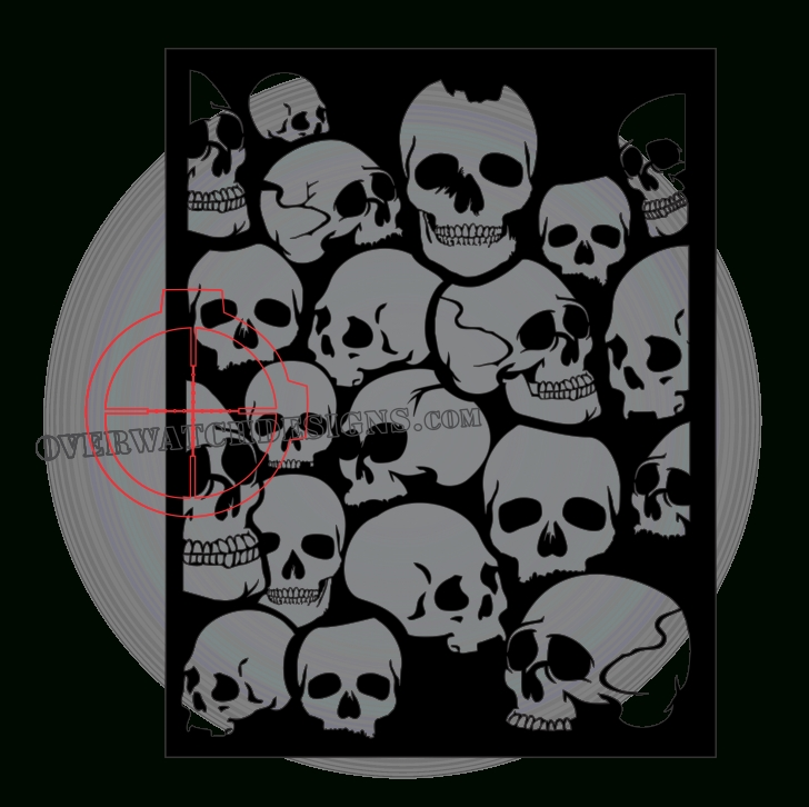 Stunning Stencil Art Black And White Courses Skull Stencil Picture