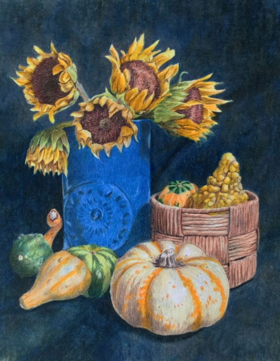 Stunning Still Life Drawing In Colour Pencil Easy Colored Pencil Still Life - Excerpts Picture