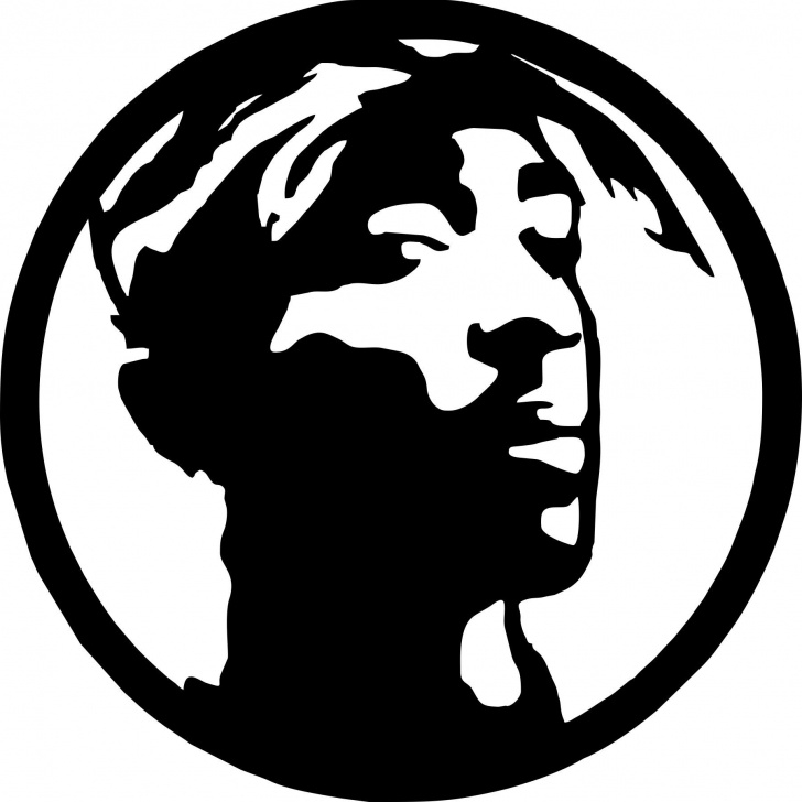 Stunning Tupac Stencil Art for Beginners Tupac-1 Laser Cut Vinyl Record Artist Representation | Punk Rock Images