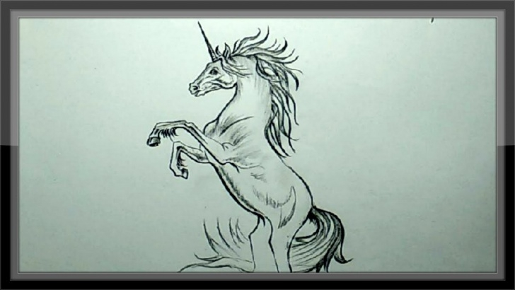 Stunning Unicorn Pencil Sketch Free Pencil Drawing Tutorial - How To Draw A Unicorn Step By Step Photos