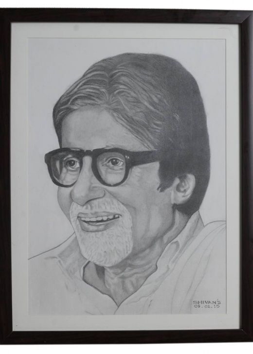 The Best Amitabh Bachchan Pencil Sketch Step by Step Pencil Portrait Of The Famous Bollywood Actor Amitabh Bachchan Pictures