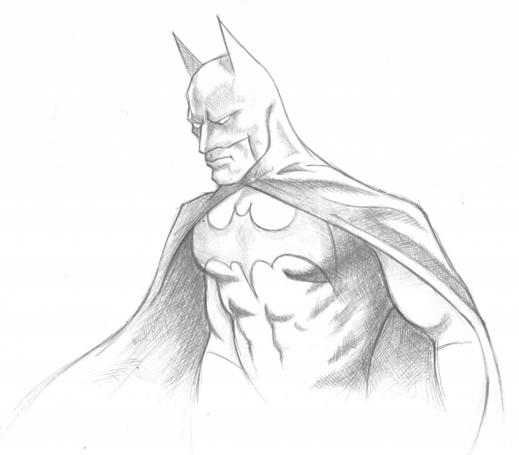 The Best Batman Pencil Drawing Lessons Batman Sketch Easy At Paintingvalley | Explore Collection Of Pictures