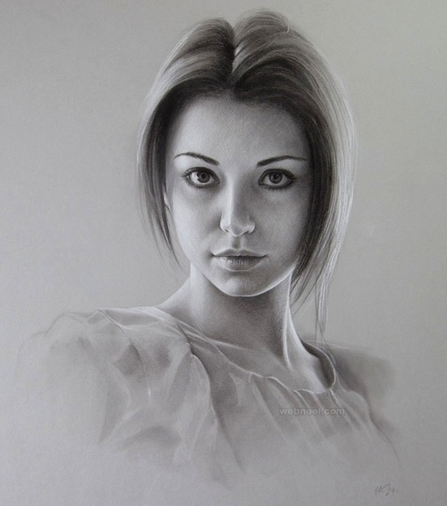 The Best Beautiful Portrait Sketches Ideas Girl Portrait Sketch At Paintingvalley | Explore Collection Of Pic