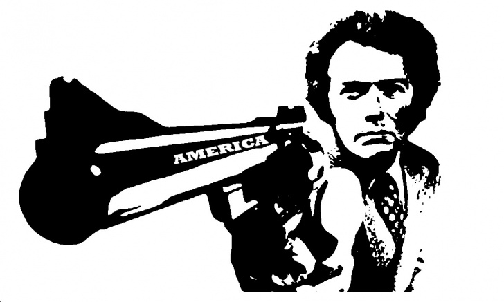 The Best Clint Eastwood Stencil Art Courses Someone Should Tell Clint Eastwood And His Internet Toadies That The Photos