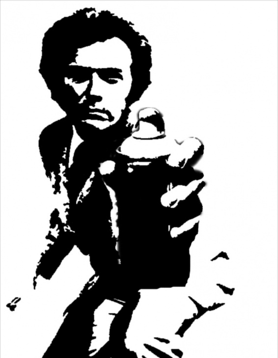 The Best Clint Eastwood Stencil Art for Beginners The World's Newest Photos Of Clint And Stencil - Flickr Hive Mind Images