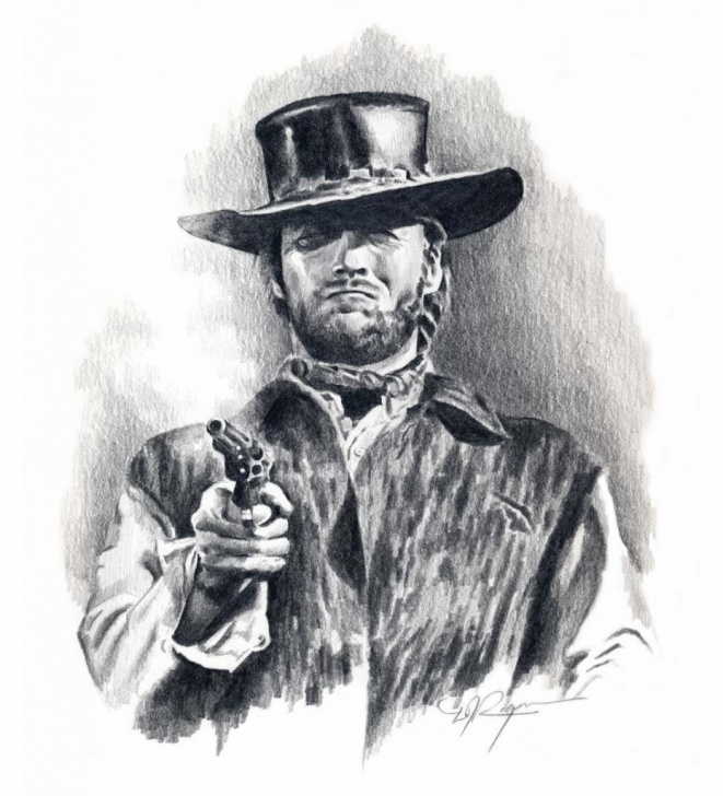 The Best Cowboy Pencil Drawings for Beginners Western Paintings Search Result At Paintingvalley Photo