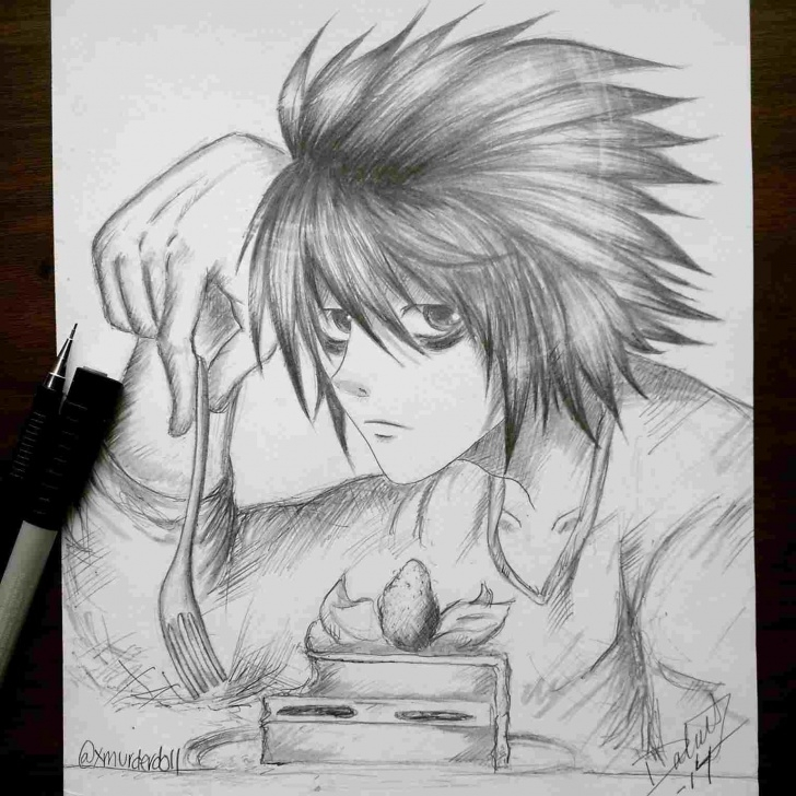 The Best Creepy Pencil Drawings Tutorials Creepy Anime Drawings In Pencil Picture