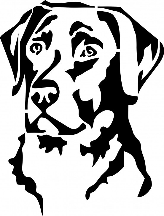 The Best Dog Stencil Art Ideas Eigenmarke Stencil Schablone Labrador | Cameon | Dog Stencil, Wood Pics