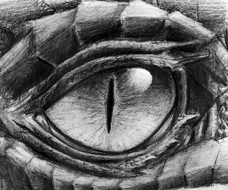 The Best Dragon Eye Pencil Drawing Lessons Dragón♥ | Art | Dragon Eye Drawing, Dragon Art, Dragon Sketch Pictures