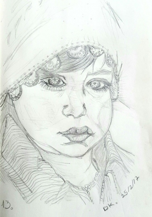 "The Best Good Morning Pencil Sketch Easy Pencil Sketch By Dorit Kenyagin #13 ""100 - Good Morning Challenge Picture"