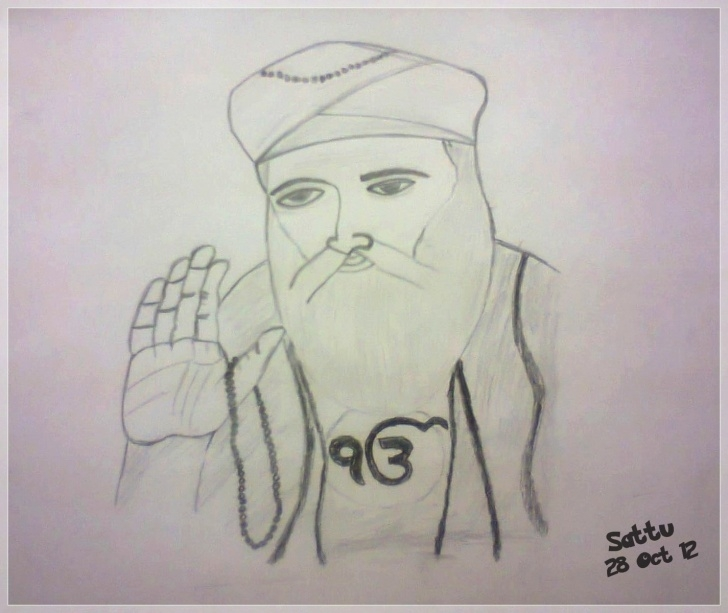 The Best Guru Purnima Pencil Sketch for Beginners Guru Drawing At Paintingvalley | Explore Collection Of Guru Drawing Photo