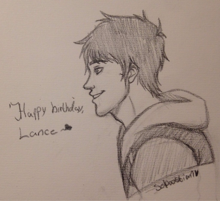 The Best Happy Birthday Pencil Sketch Lessons Happy Birthday, Lance. - Pencil Sketch | Voltron Amino Photo