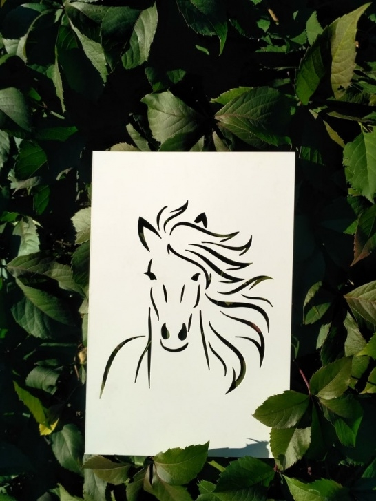 The Best Horse Wall Stencils For Painting Tutorial Horse Stencil: Reusable Custom Stencil For Painting, Equine Template,  Animal Stencils, Crafts Supplies Diy Decorative Wall Art, Farm Stencil Images