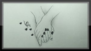 The Best Interesting Pencil Drawings Simple Cool Pencil Drawing A Valentine Design Easy Pic