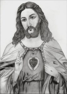 The Best Jesus Pencil Drawing Tutorial Sketch Picture Of Jesus At Paintingvalley | Explore Collection Pictures