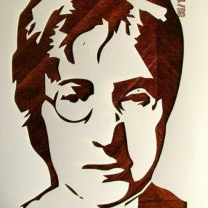 The Best John Lennon Stencil Art Simple John Lennon Stencil / Template Reusable 10 Mil Mylar Photos