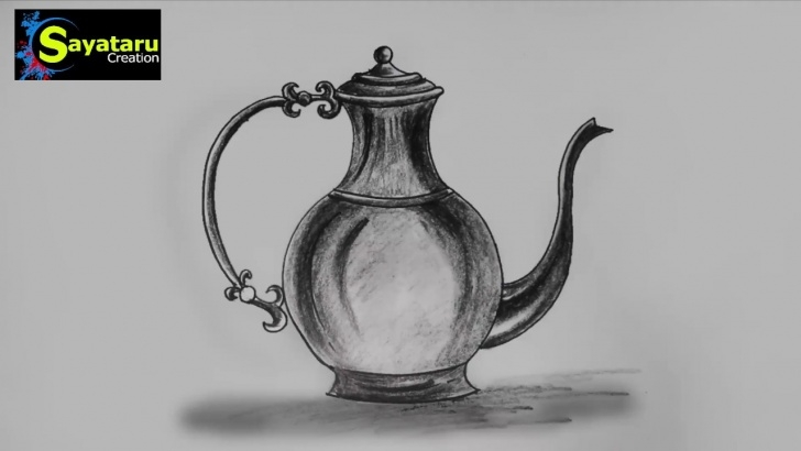 The Best Jug Pencil Drawing Easy Jug Drawing And Sketch Step By Step | Sayataru Creation Pic
