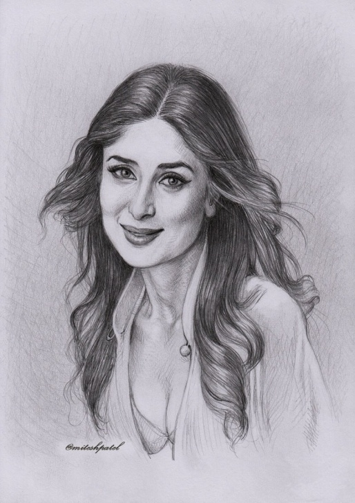 "The Best Kareena Kapoor Sketch Tutorials Mitesh Patel On Twitter: ""kareena Kapoor Beautiful Pencil Sketch Pictures"