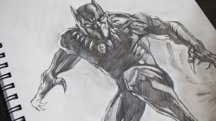 The Best Marvel Drawings In Pencil for Beginners Sketching Black Panther Pencil - Marvel Pic