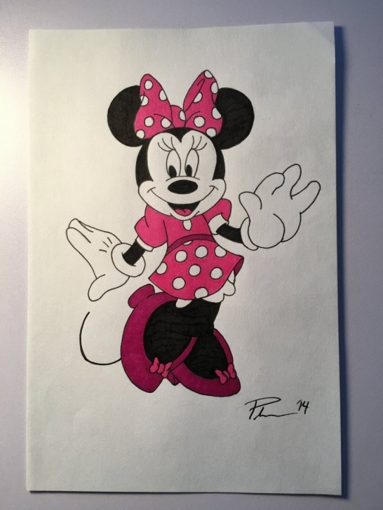 The Best Minnie Mouse Pencil Drawing Free Original Minnie Mouse Photos