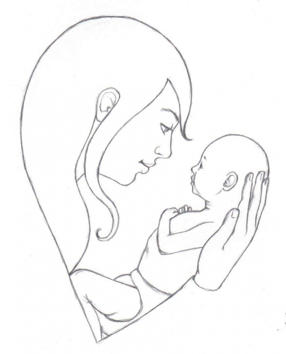 The Best Mothers Love Pencil Drawing Ideas How To Draw A Mom | Galleries Related: Mother Love Quotes , Mother Pictures