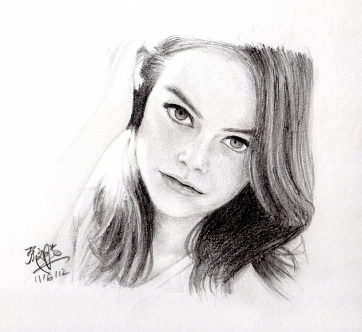 The Best Pencil Art Girl Face Step by Step Painting Pencil Sketch Girl Pencil Painting Hd Photo Girls Face Photo