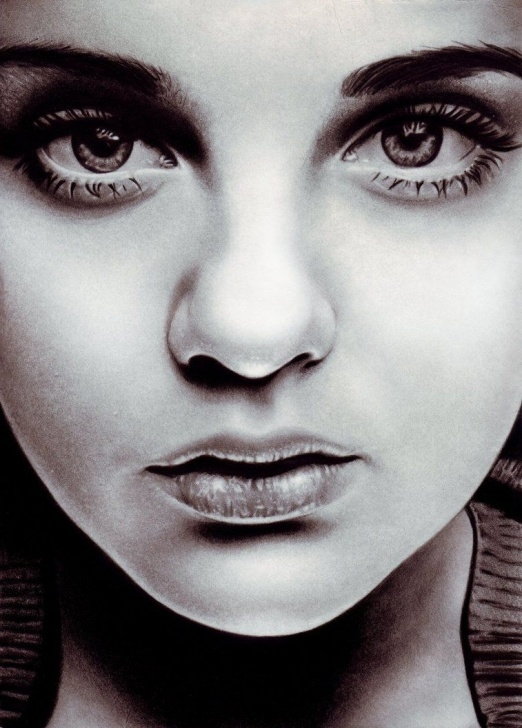 The Best Pencil Drawing Girl Face Courses Pencil Sketches Of Women Faces | Pencil Sketches Of Women | Photo Pics