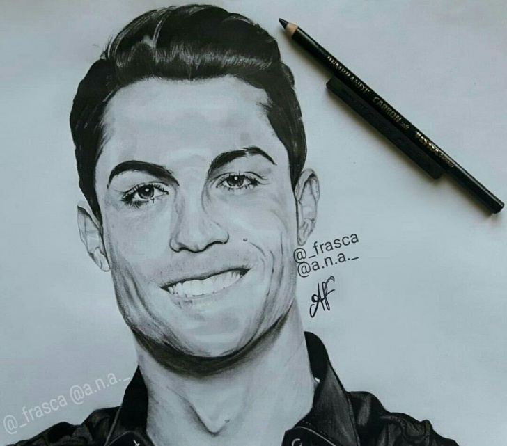 "The Best Pencil Drawing Of Cristiano Ronaldo Free Nice Drawing Of Cristiano Ronaldo ???"" Goodnight Photos From Images"