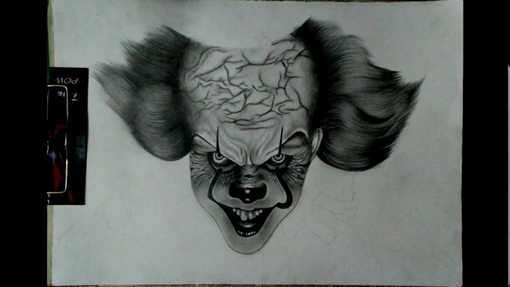 The Best Pennywise Pencil Drawing Tutorials Drawing It || Pennywise Pencil Sketch Pics
