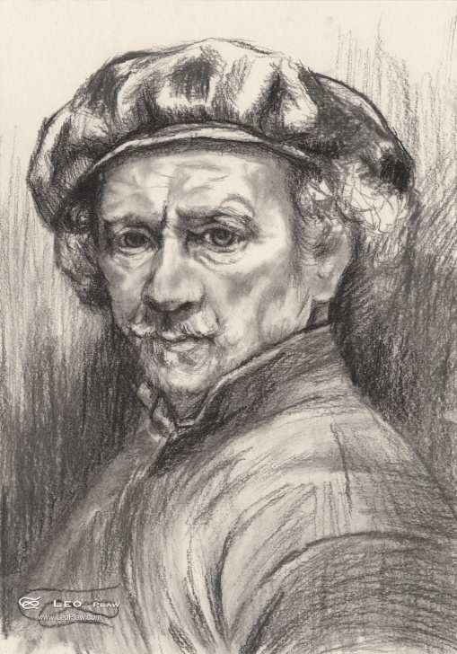 Rembrandt Pencil Drawings