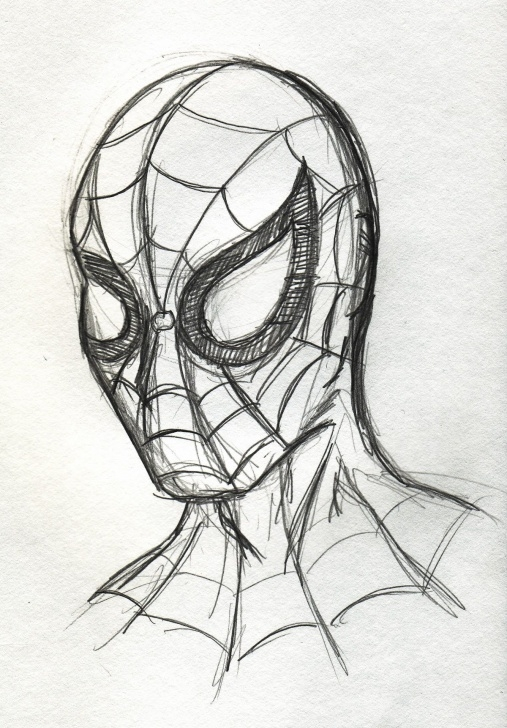The Best Spiderman Drawings In Pencil Easy Courses Drawings+Of+Super+Heroes | The Daily Scribble At Vynsane Pic
